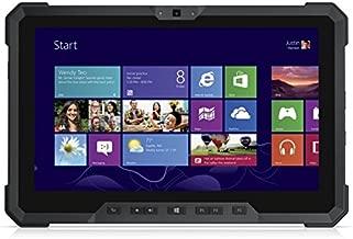 Dell Latitude Rugged 7202 HD 11.6 Inch Tablet PC (Intel Core M-5Y71, 8GB Ram, 128GB Solid State SSD, Dual Camera, Mini HDMI, Micro-SD Reader, USB 3.0) Win 10 Pro (Renewed) Dual Battery