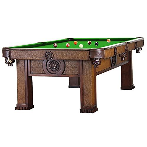 Billiard-Royal - Tavolo da biliardo modello Orient, 8 m, colore: Verde