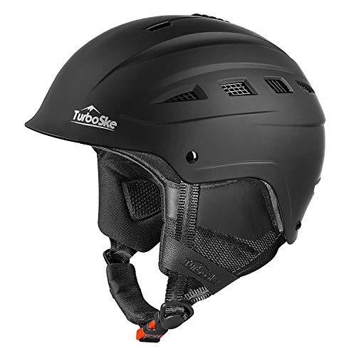 TurboSke Ski And Snowboard Helmet, Audio Compatible