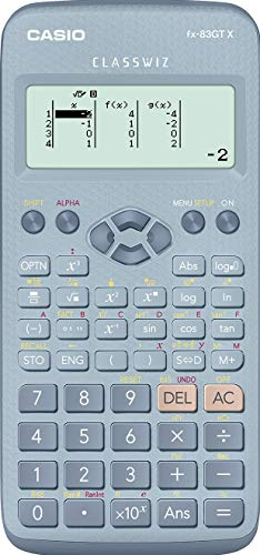 New Casio Cs46927 Calculatrice Scientifique Bleu