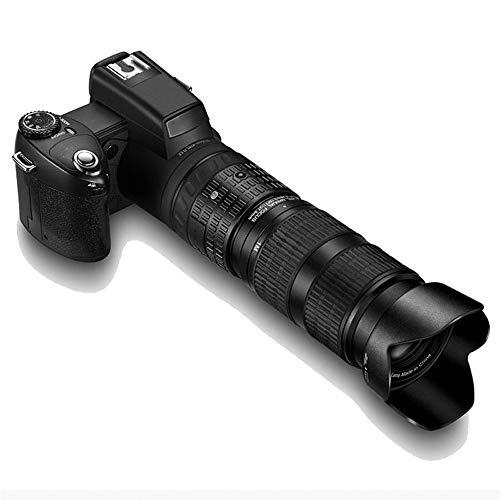 Z-XILI Cámaras digitales de alta definición digital de la cámara teleobjetivo de vídeo con 3 lente zoom digital de 8x a distancia de enfoque automático, tirón de la pantalla de la cámara digital de la
