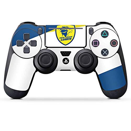 Skin kompatibel mit Sony Playstation 4 Slim PS4 Controller Aufkleber Folie Sticker Rhein Neckar Löwen Handball RNL