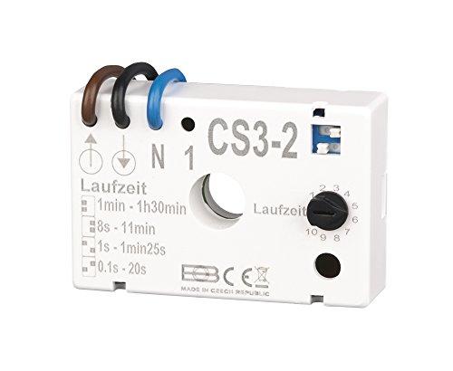 Elektrobock CS3-2 Nachlaufrelais Unterputz