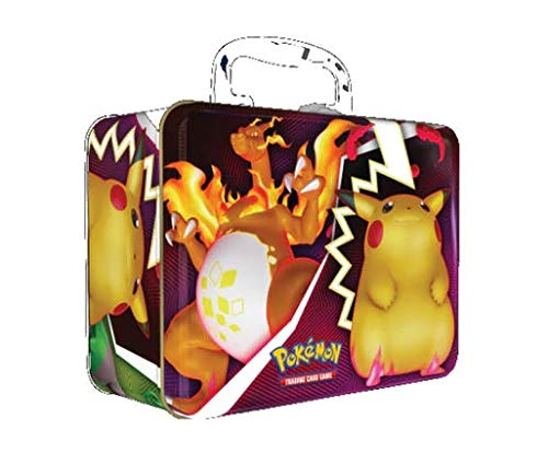 Pokemon 2020 Fall Collector Chest Charizard Tin Box, Includes 5 Booster Packs!