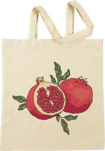 Vendax Saftig Granatapfel Früchte Beige Einkaufstasche