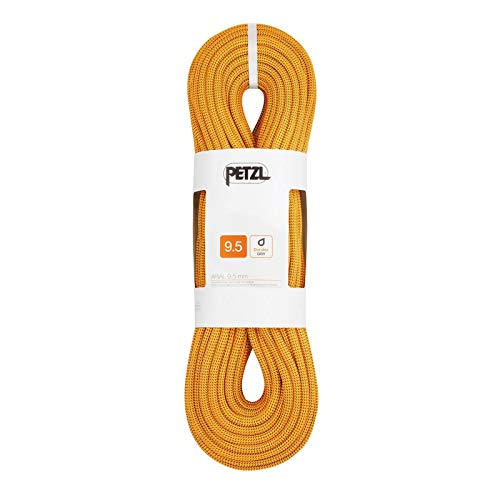 PETZL Corde Arial 9,5Mm X 60M Doré Adulte Unisexe, Or, One Size