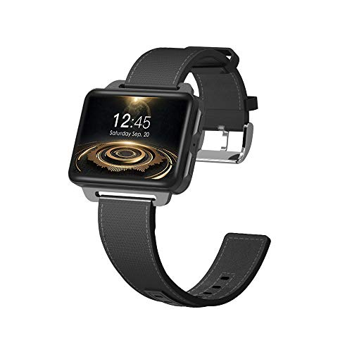 Gamogo DM99 3G SmartWatch Reloj Deportivo Sistema GPS Quad Core CPU 1GB + 16GB WiFi 2.2 Pulgadas IPS Pantalla Android 5.1 Podómetro Monitor de Ritmo cardíaco Que admite Tarjeta Nano SIM