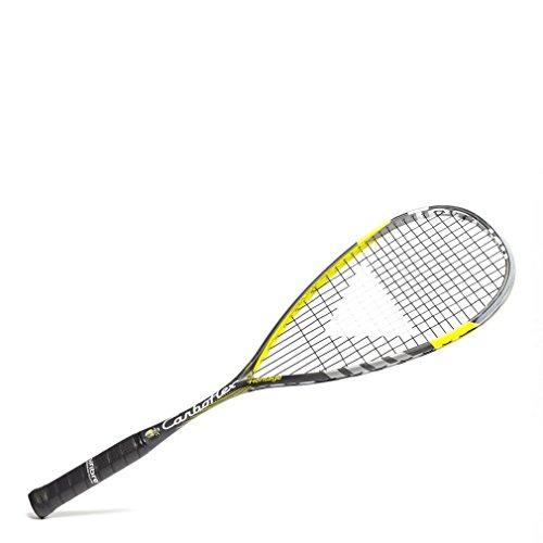 Tecnifibre CARBOFLEX Heritage - Raqueta de Squash para Adulto, Color Negro, Talla única