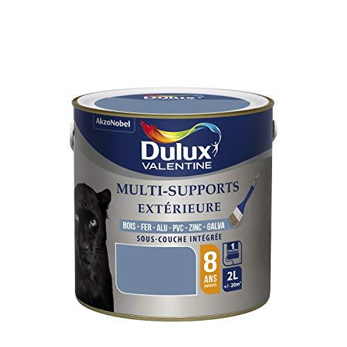 Dulux Valentine Peinture Multi-Supports Extérieure - Satin Ciel d'Orage 2L