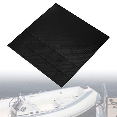 Yosoo Reparaturset für Schlauchboote PVC, 3-teiliges PVC Wasserdichtes Reparatur-Patcheset Set Set Reparatur-Patches für Schlauchboote für Schlauchboote für Schlauchboote(Schwarz)