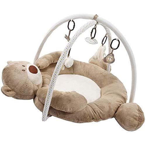 ZHANG Almohadilla de Juego para Bebés Recién Nacidos, Almohadilla de Gimnasio para Bebés, Almohadilla de Juego para Actividades en Interiores, Juguete y para Centros de Actividad Temprana para Bebés