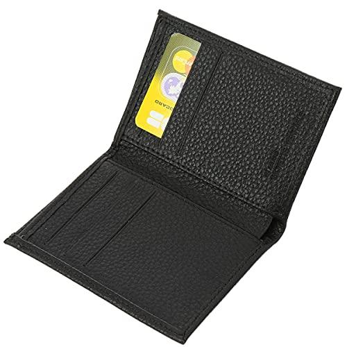 FASHIONGEN - Porte cartes en cuir SAWSAN - Noir, Noir, Taille unique
