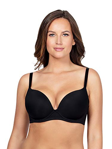 PARFAIT Women Full Figure Emma Plunge Bra-Black-34G