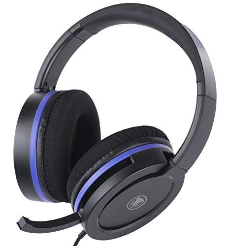 snakebyte HEADSET 4 PRO – Playstation 4 Stereo Gaming Headset mit Mikrofon PS4 / PS4 Slim/ PS4 Pro, 3,5mm Audio Stecker, kompatibel mit PC, XBOX, VOIP, Telefonkonferenzen, VideoCall, Skype, Zoom, uvm.