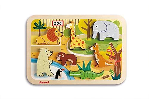 Janod - Chunky Puzzle de madera