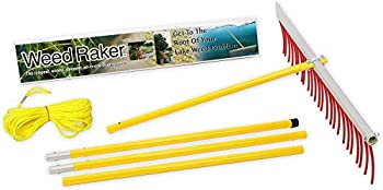 Jenlis Weed Raker Weed & Grass Removal Tool for Lakes Ponds & Beaches