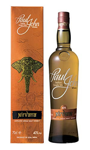 Paul John NIRVANA Indian Single Malt Whisky (1 x 0.7 L)