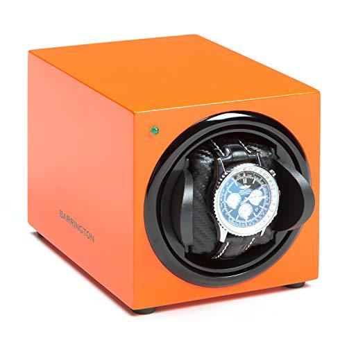 Caja Giratoria para Relojes Automatico: Cargador Compacto para Relojes automáticos, Motor súper silencioso, Alimentado por batería y Adaptador de CA,