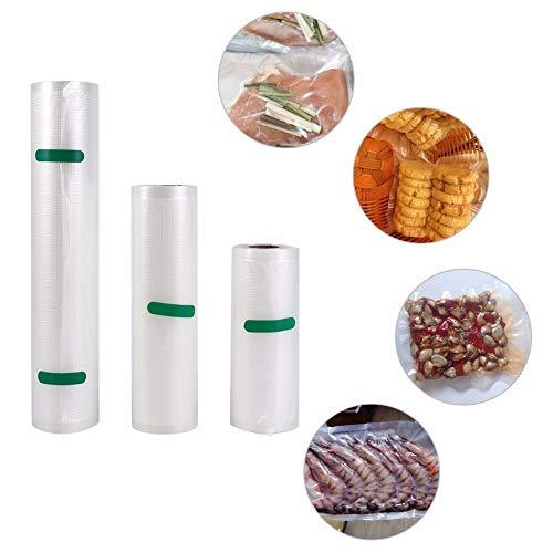 Machine - 1 Roll Food Grade Sealing Machine Packages Tassen Grain Bag Wrappers Sealer - Vacuüm Herbruikbare Twist Gratis Opslag Saver Vlees Borst Grootte Moedermelk Melk Vriezer Tassen Smoothies 20x500cm