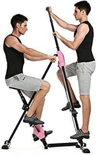 Anfan Vertical Climber Exercise Climbing Machine Fitness Cardio Workout Trainer for Home Gym