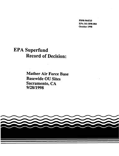 Superfund Record of Decision: Mather Air Force Base Basewide OU Sites Sacramento CA36066 (English Edition)