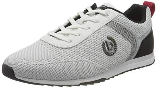 bugatti Herren 321A3A056900 Sneaker, Weiß, 44 EU