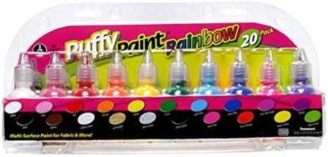Puffy Paint Rainbow Purchase 20 pack WLM Mail order cheap