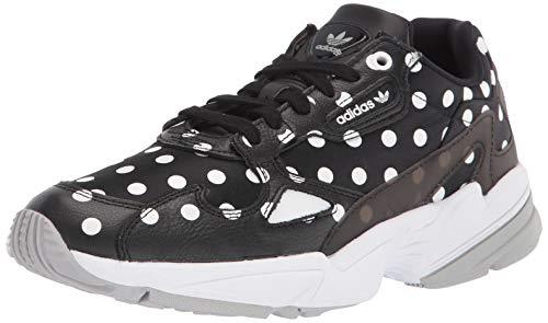 adidas Originals Falcon Shoes, Zapatillas Mujer, Core Black Crystal Blanco Gris, 36 EU