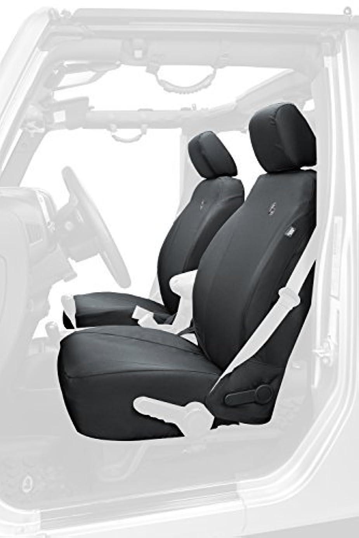 Bestop 29283-35 Black Diamond Front Seat Cover for Jeep Wrangler Unlimited (2 Door and 4 Door) by Bestop