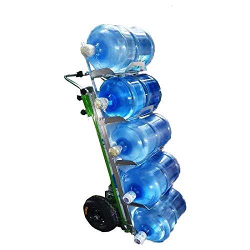 YBSY Carro eléctrico Plegable de 800 W para Subir escaleras, Carro de Mano, Carga máxima de 550 LB, para Entrega logística, manejo de Limpieza,Bottled Water