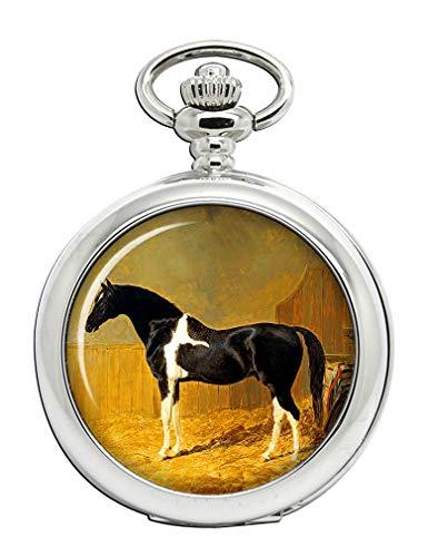 pie-bald caballo por arenque Full Hunter reloj de bolsillo