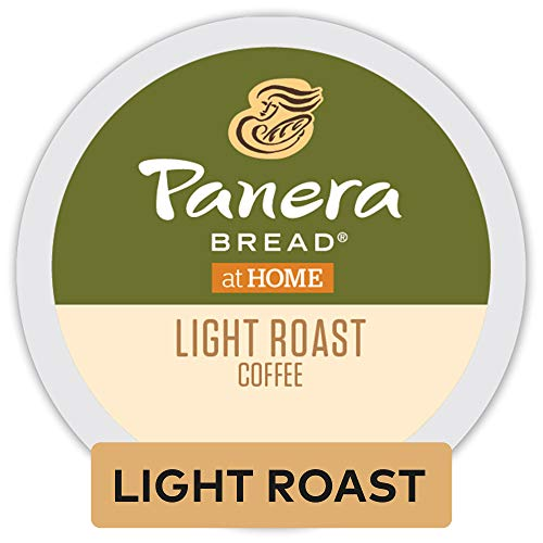 Panera Bread Light Roast Coffee, Single-Serve Keurig K-Cup Pods, 100% Arabica Coffee, 96 Count