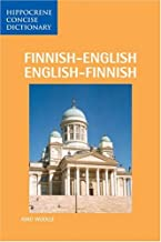 Finnish-English/English-Finnish Dictionary (Hippocrene Concise)