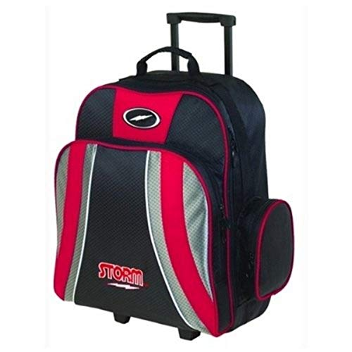 Storm Products Rascal 1 Ball Roller Bowling Bag, Red/Black/Silver