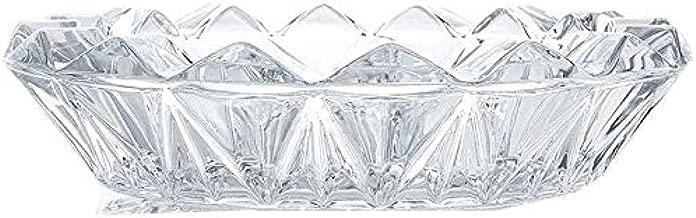 ideale per soggiorno ufficio decorazione da uomo posacenere in vetro trasparente per affumicare Uotyle bar ristorante