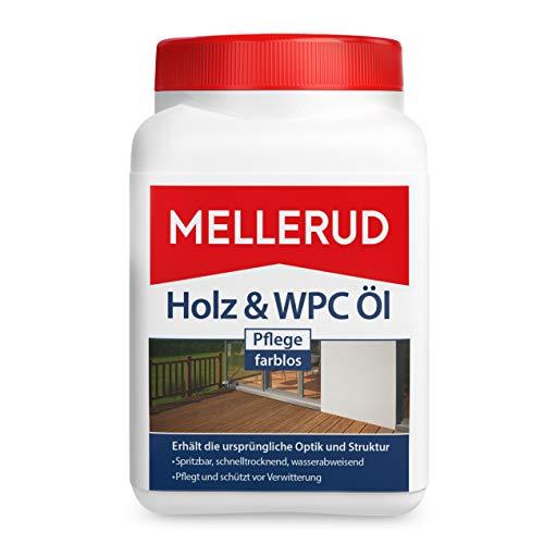 MELlERUD Holz & WPC Öl Pflege farblos 0.75 l