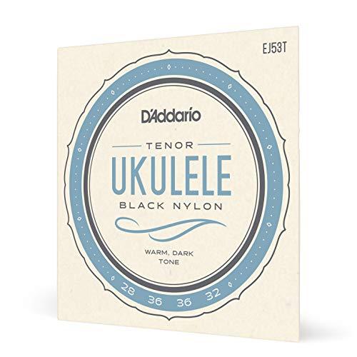 D'Addario EJ53T Pro-Arté. Cuerdas rectificadas para ukelele, tenor/hawaiano