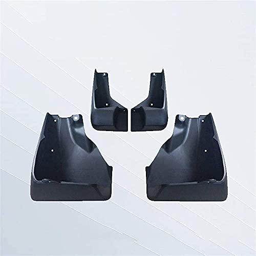 Wlkjhty 4 Piezas Guardabarros de Coche para Subaru Forester 2019 2020, Faldillas antibarro para carrocería, Delanteros y Traseros Barro Flaps de Coches, Protección contra Salpicaduras