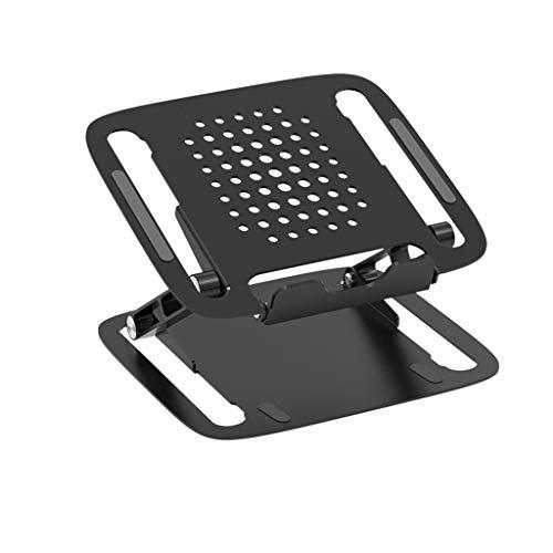 Yousiju Portable Laptop Holder for Notebook Laptop Stand Bracket Foldable Aluminium Alloy Laptop Holder for Notebook (Color : A)