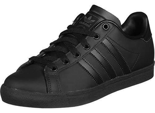 adidas Herren Coast Star Sneaker, Schwarz (Core Black/Core Black/Grey 0), 43 1/3 EU