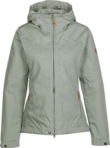 FJALLRAVEN Damen Stina Jacket W Jacken, Salbeigrün, XL