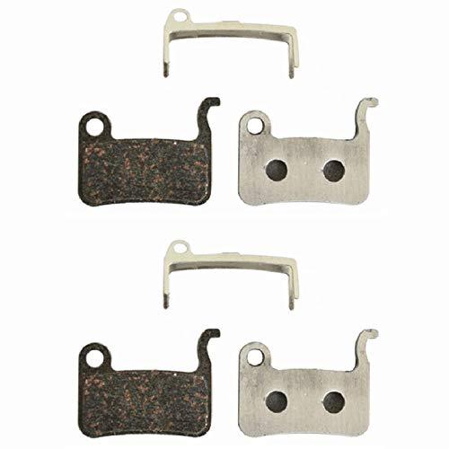 Tuneway 2 Pairs Disc Brake Pads for AO1S M965 M966 M975 Saint M800 Deore XT M765 M775 M776 SLX M665 Deore LX M585