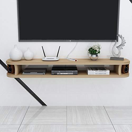 Drijvende TV plank muur gemonteerde TV kabinet kleine TV console plat muur kast TV standaard kabel doos lengte 80CM/100CM/120CM/140CM