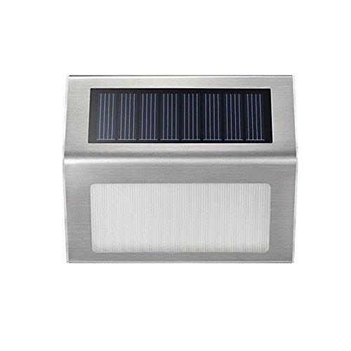 Buitenverlichting op zonne-energie voor buiten, buitenverlichting, tuinverlichting, wandlamp, trapverlichting, voor huis, omheining, tuin, garage, schuur, trap, tuin, decoratie.