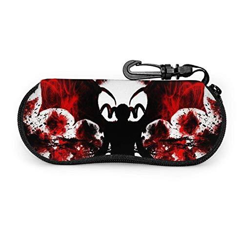 Movies Lu-cifer - Funda blanda para gafas de sol (neopreno), diseño de gafas