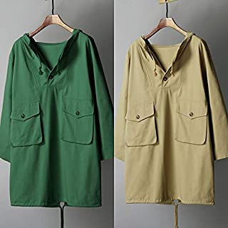 Explopur Fashion Women Coat,Fashion Women Solid Color Longline Coat Hooded Long Sleeve Drawstring Buttons Pocket Loose Casual Outerwear