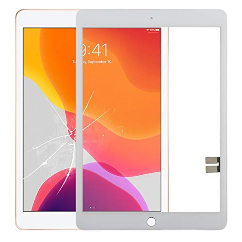 YUNSHUIVICC Touch Panel for iPad 10.2 inch/iPad 7 (White) (Color : White)