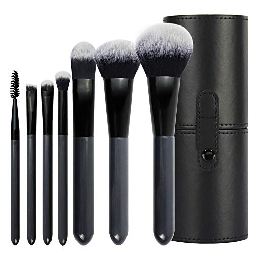 Make up Pinsel set, 7 stück KOKOBI Premium Kosmetik, Synthetisches Haar Schminkpinsel Foundation,...