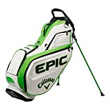 Callaway Golf 2021 Epic Staff Stand Bag Single Strap White/Green/Black