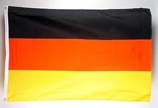 Vaandel vlag Duitsland 150 x 90 cm met 2 ogen